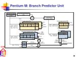 pentium m branch predictor unit
