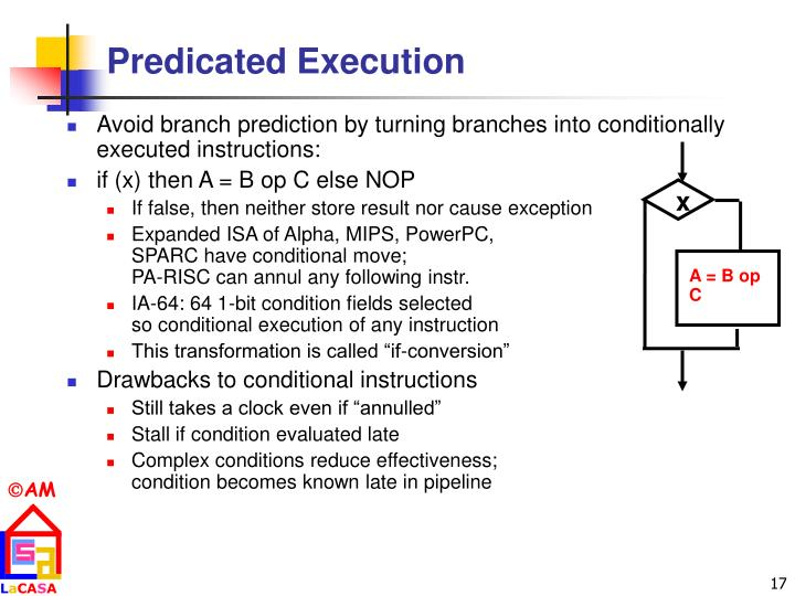 Predicated Execution