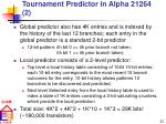 tournament predictor in alpha 21264 2