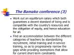 the bamako conference 3