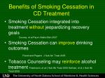 benefits of smoking cessation in cd treatment1