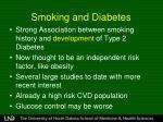 smoking and diabetes1