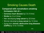 smoking causes death1