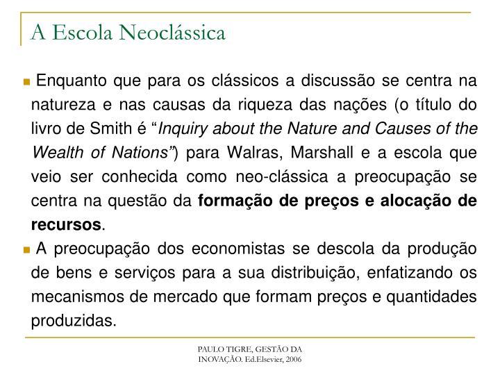 A Escola Neoclássica
