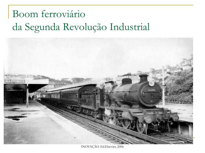 Boom ferroviário