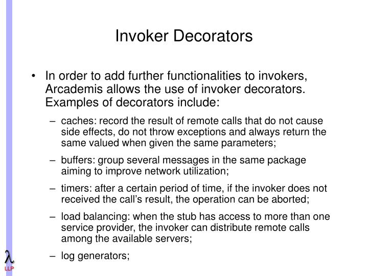 Invoker Decorators