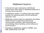 middleware systems