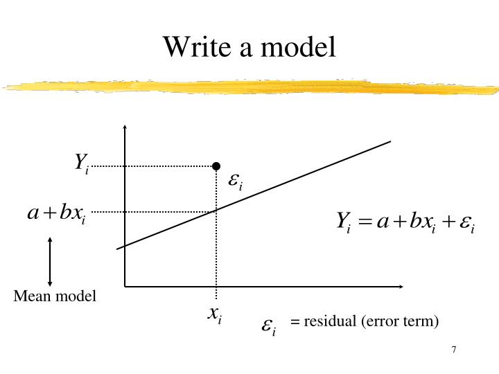 Write a model