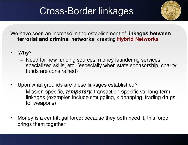 Cross-Border linkages
