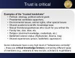 trust is critical1