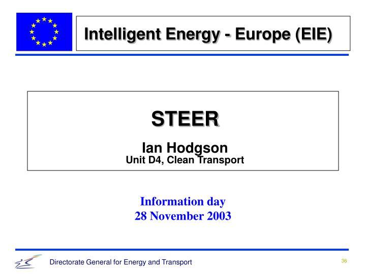Intelligent Energy - Europe (EIE)