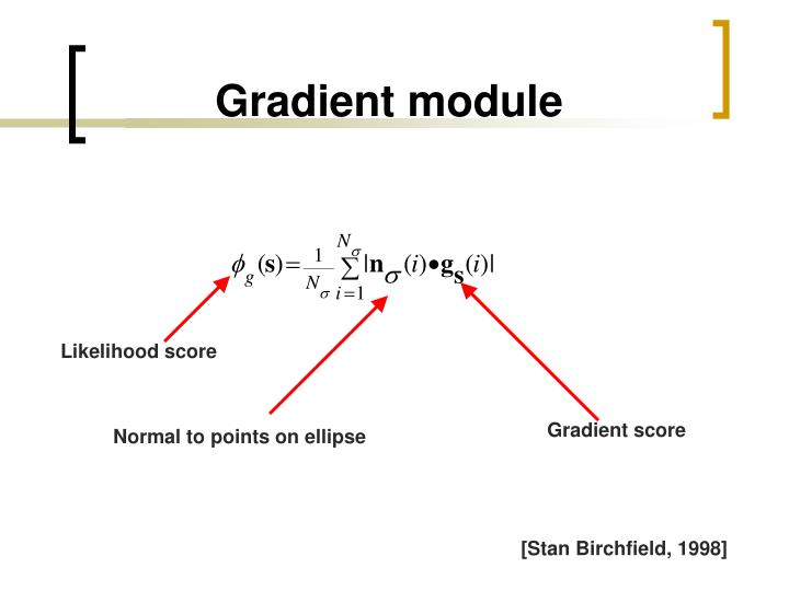 Gradient module