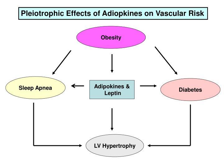 Pleiotrophic Effects of Adiopkines on Vascular Risk