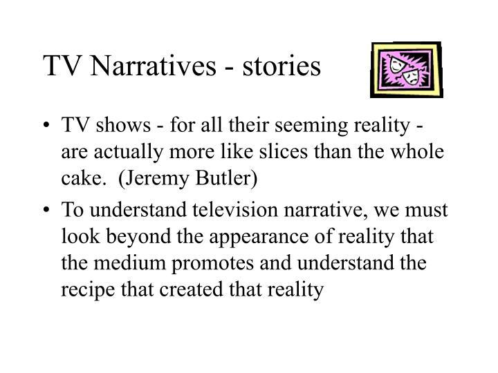 TV Narratives - stories