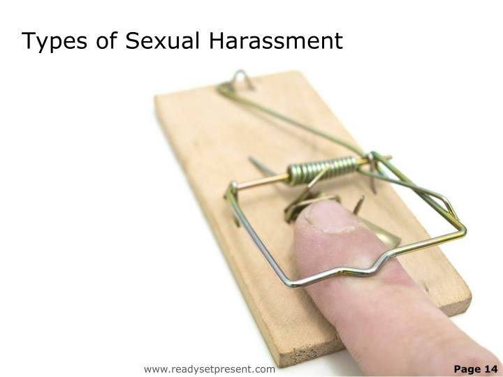 Types of Sexual Harassment