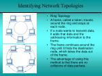 identifying network topologies4