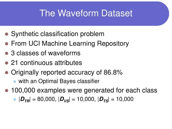 The Waveform Dataset