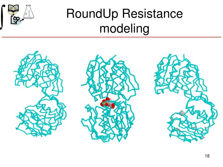 RoundUp Resistance modeling