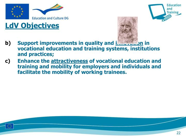 LdV Objectives