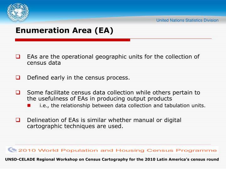 Enumeration Area (EA)