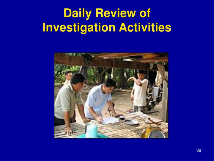 Daily Review of
