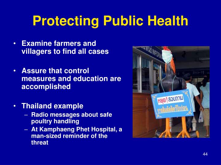 Protecting Public Health