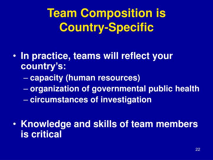 Team Composition is