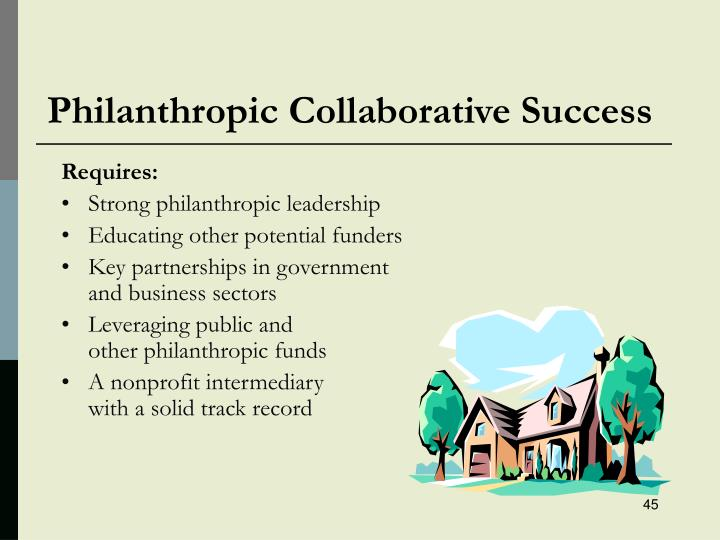 Philanthropic Collaborative Success