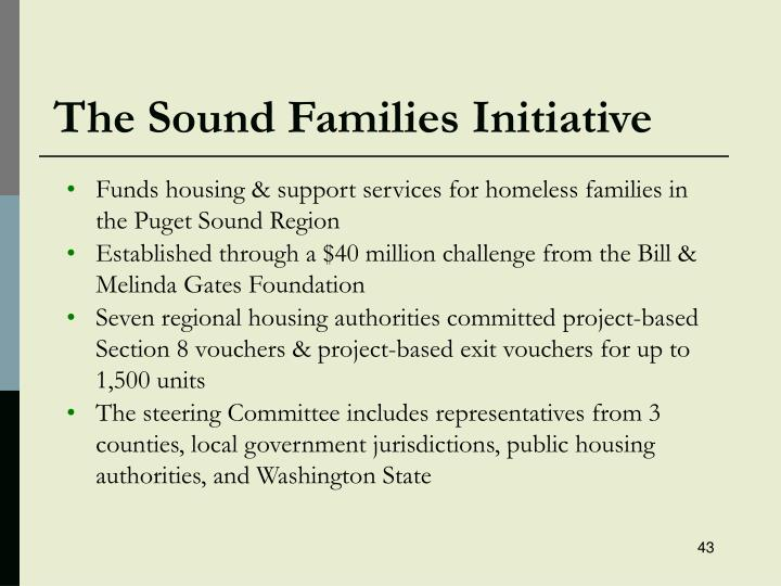 The Sound Families Initiative