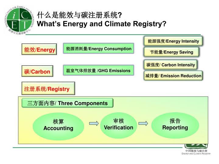 什么是能效与碳注册系统