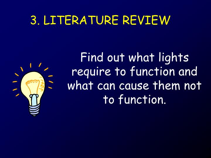 3. LITERATURE REVIEW