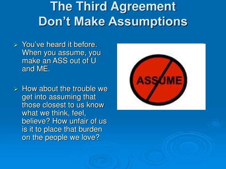 The Third Agreement