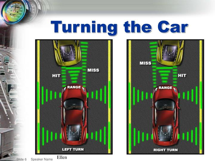 Turning the Car