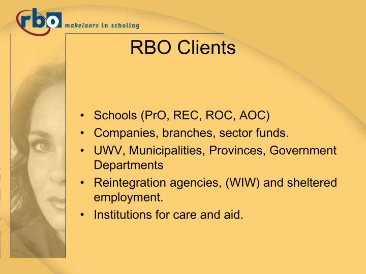 RBO Clients