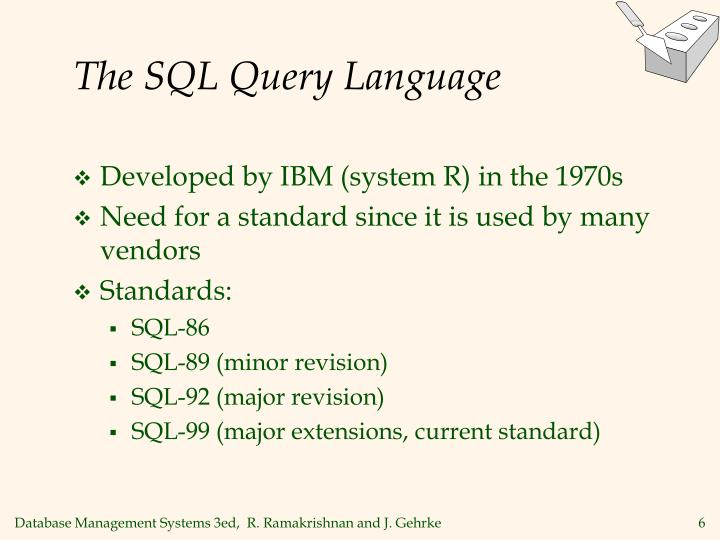 The SQL Query Language