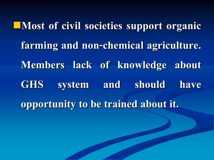 Most of civil societ