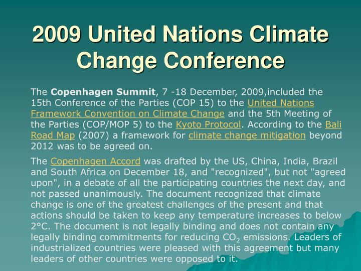 2009 United Nations Climate Change Conference