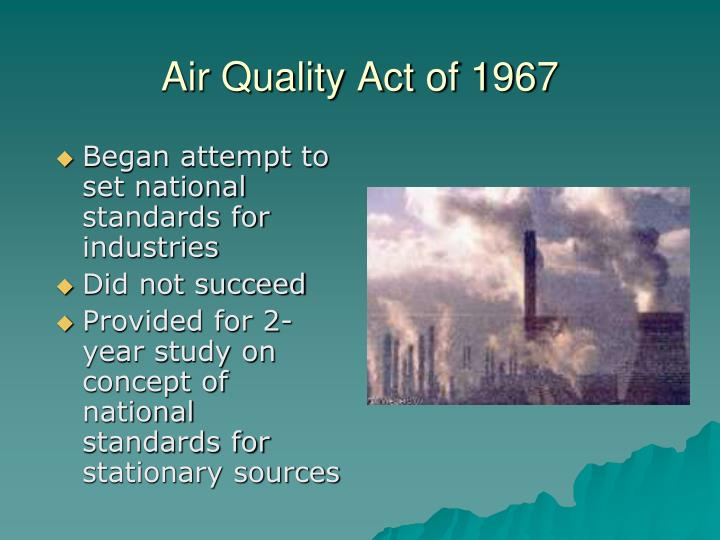 Air Quality Act of 1967