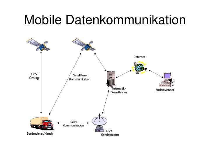 Mobile Datenkommunikation