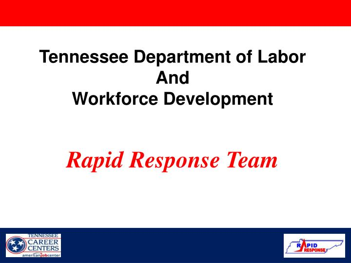 Tennessee Department of Labor
