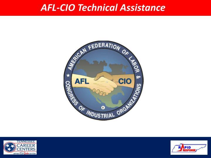 AFL-CIO Technical Assistance