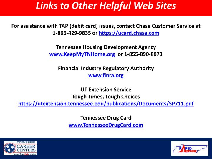 Links to Other Helpful Web Sites
