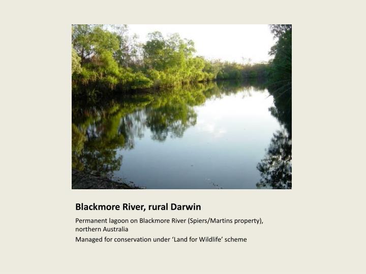 Blackmore River, rural Darwin