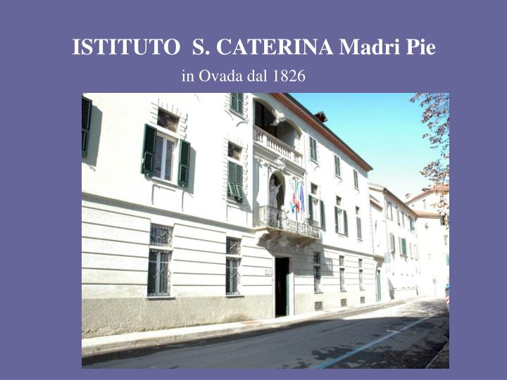 istituto s caterina madri pie