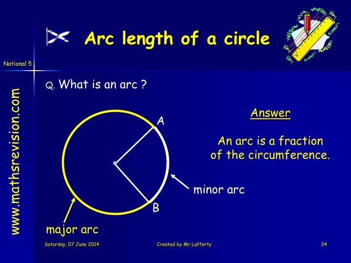 minor arc