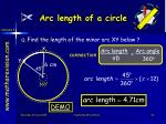 arc length of a circle2