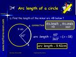 arc length of a circle3