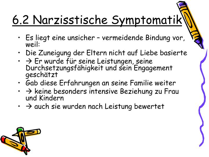 6.2 Narzisstische Symptomatik