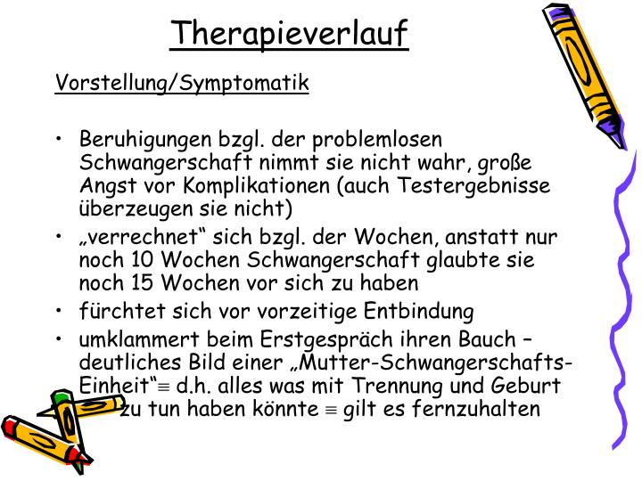 Therapieverlauf
