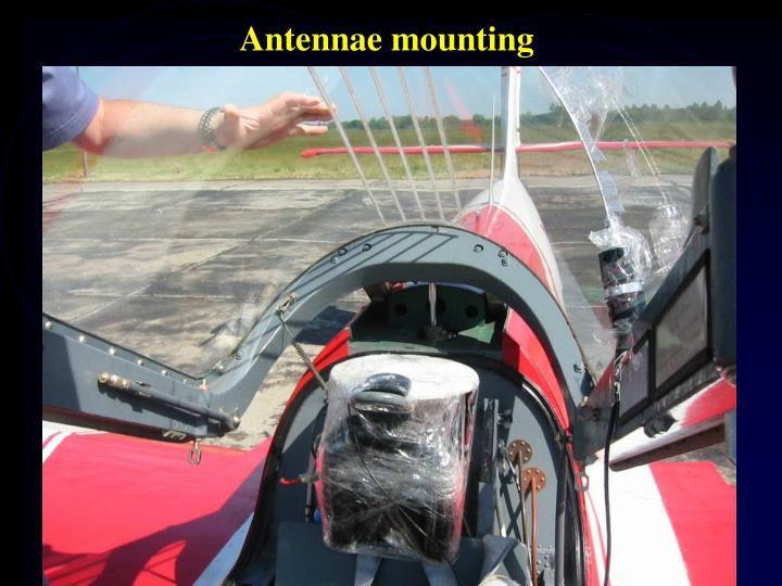 Antennae mounting